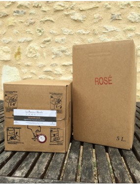 Bag-in-box rosé 5L
