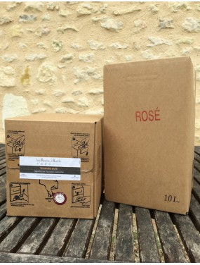 Bag-in-box rosé 10L